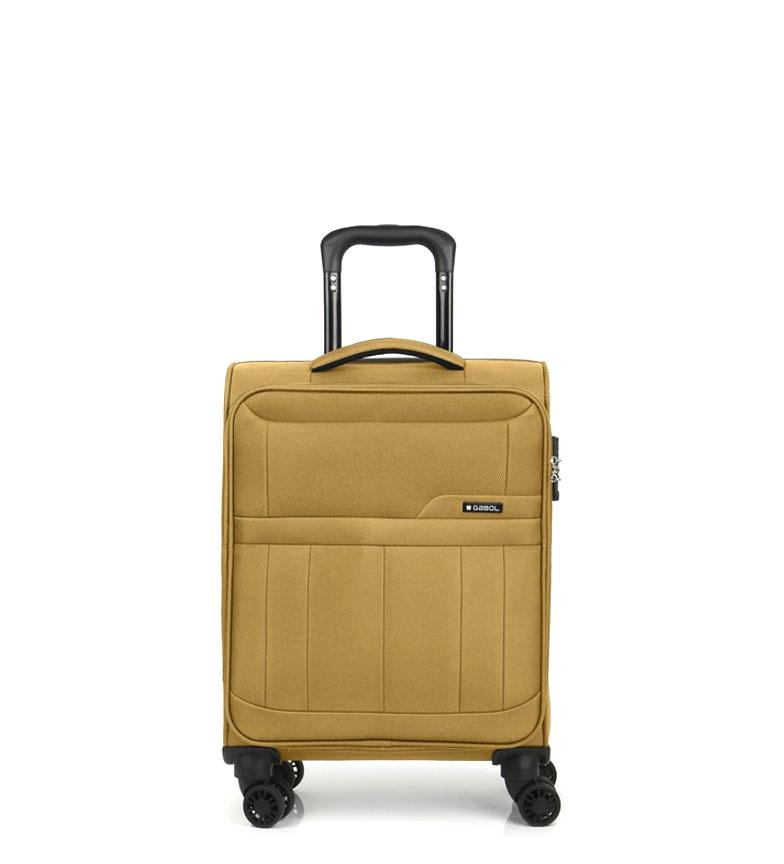 Comprar Gabol Trolley cabina Roma mostaza -39x55x20cm-