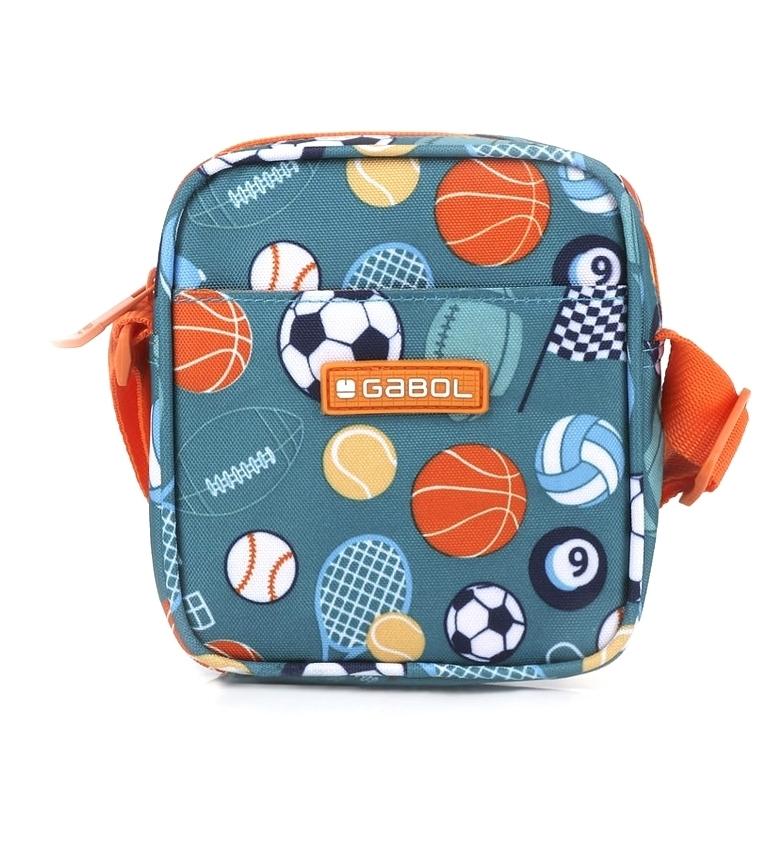 Comprar Gabol Gym turquoise shoulder bag -13x14x4cm-