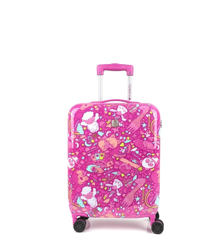 Comprar Gabol Carrello trolley giocattolo rosa -40x55x20cm-