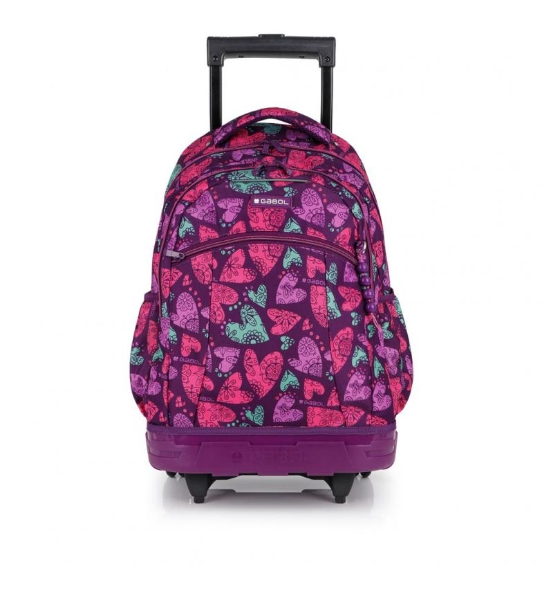 Comprar Gabol Purple Dream Trolley Backpack -34x46x46x20cm-