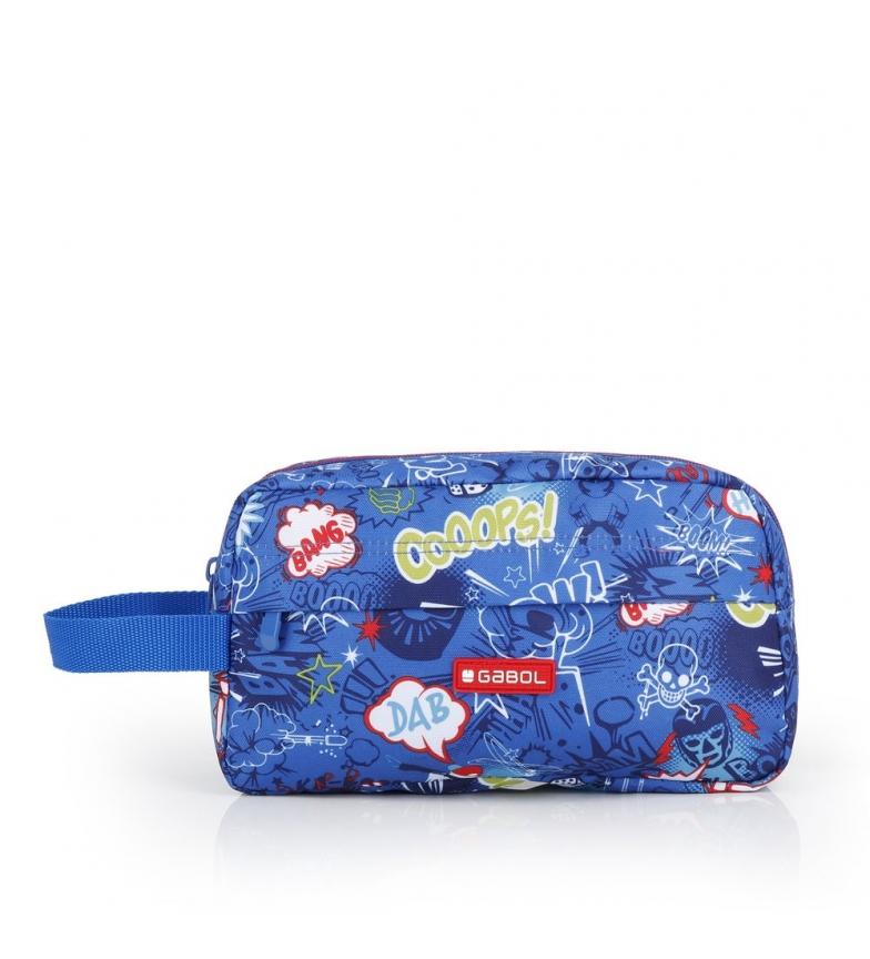 Comprar Gabol Bang blue toilet bag -26x15x8cm