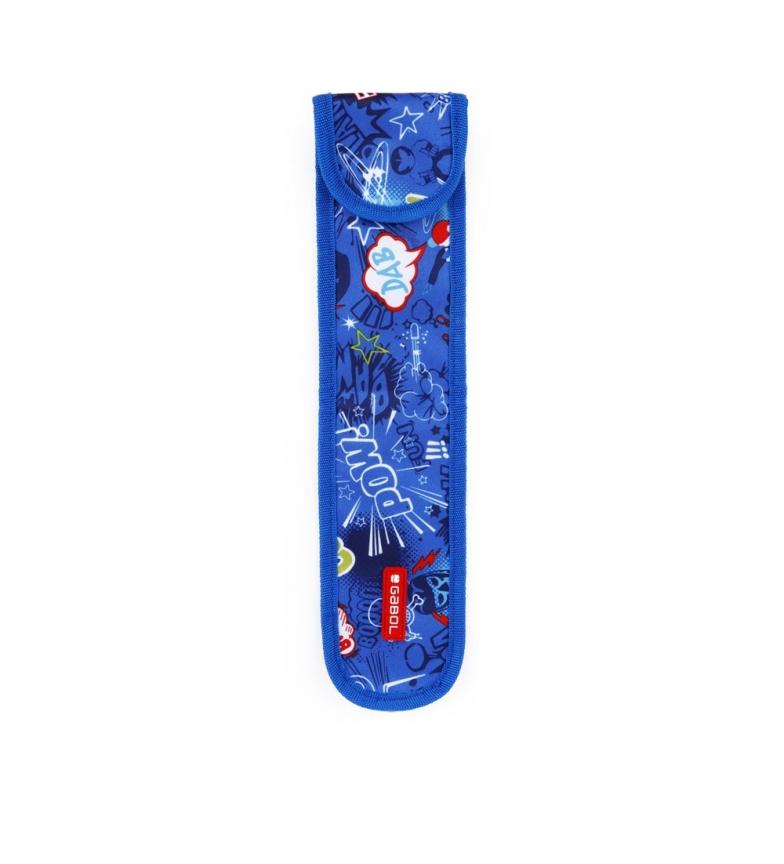 Comprar Gabol Flautero Bang azul -37x9x0.5cm-
