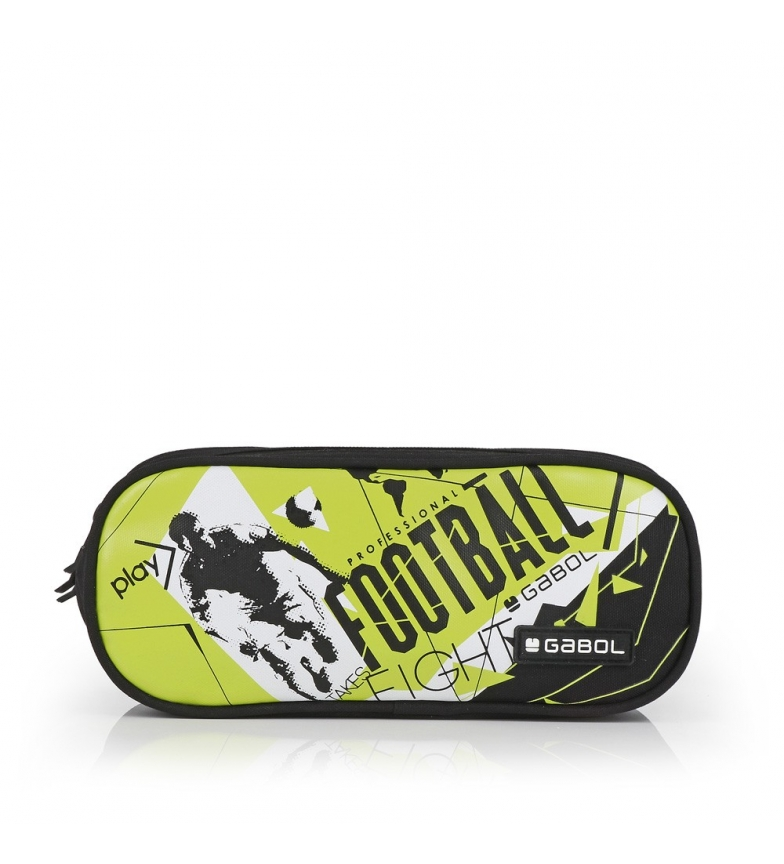 Comprar Gabol Derby triple case black, yellow -22x9x9cm