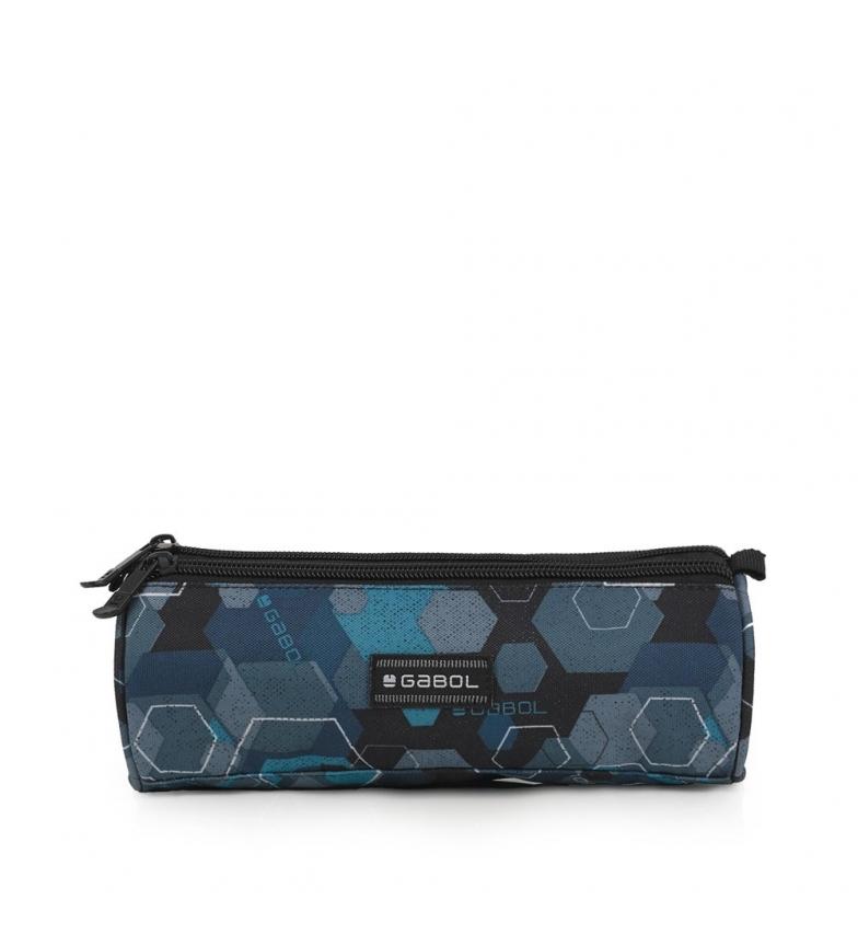 Comprar Gabol Hexon case blue -22x7x7cm