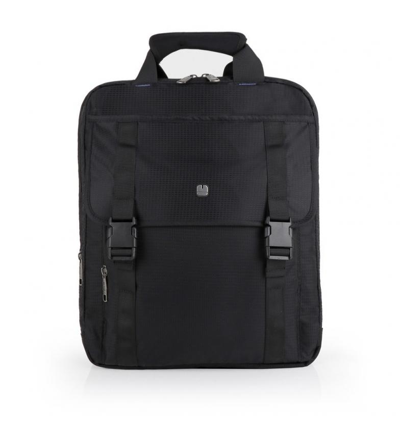 Comprar Gabol Mochila portadocumentos Dark negro -32x38x11cm-