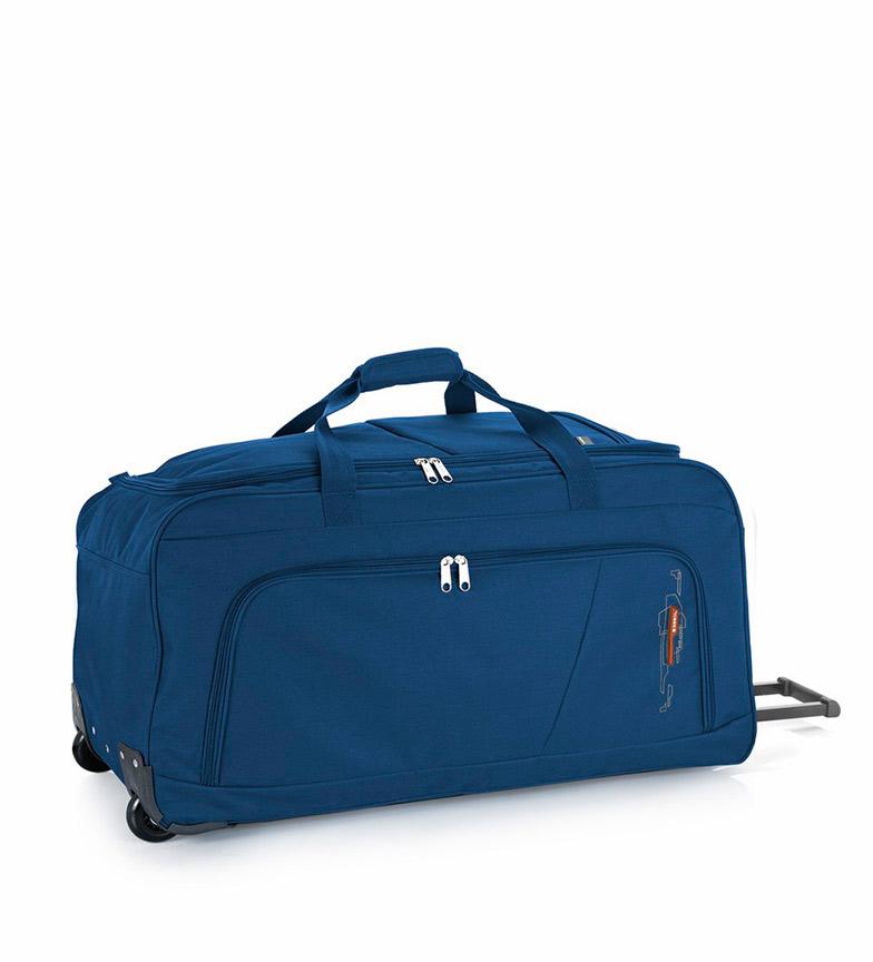 Comprar Gabol Suitcase Wheels Week 110L blue -83x37x36cm-
