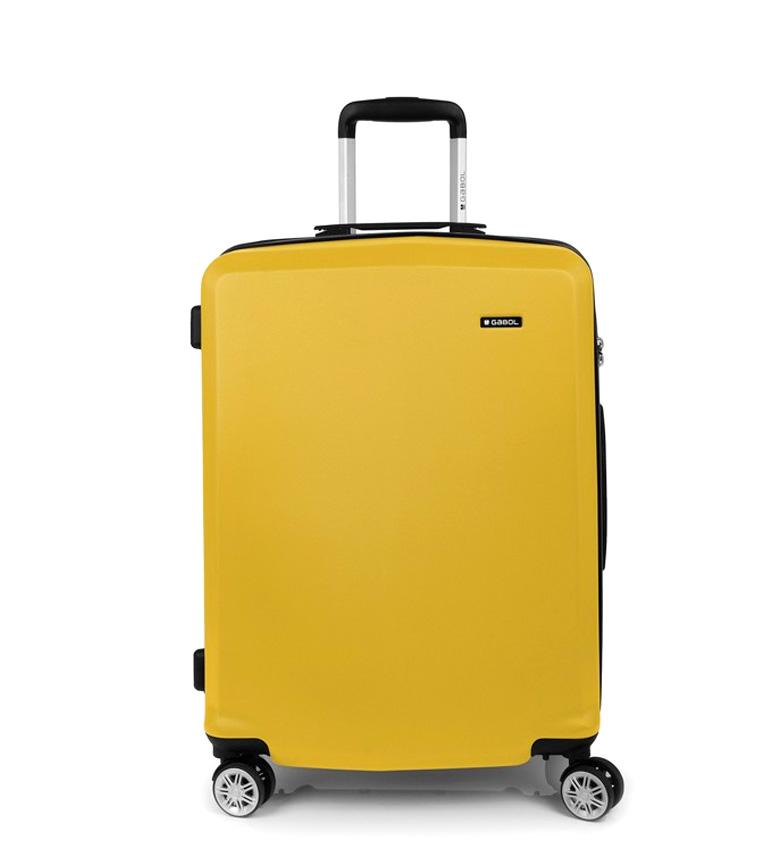 Comprar Gabol Trolley mediano Mondrian amarillo -46x65x28cm-
