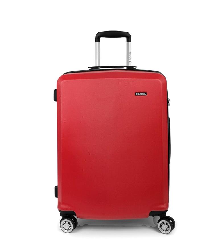 Comprar Gabol Trolley mediano Mondrian rojo -46x65x28cm-