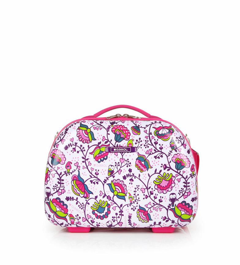 Comprar Gabol Mala de viagem Magic Pink -35x28x18cm-