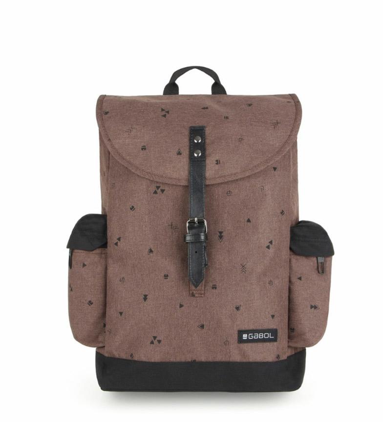 Comprar Gabol Risk brown backpack 28x42x11cm-