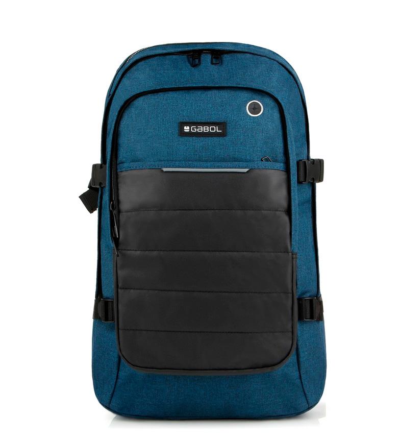 Comprar Gabol Mochila azul de trabalho -30.5x52x16cm-