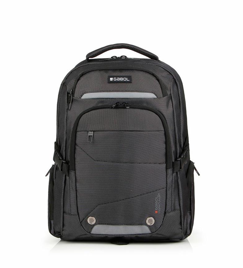 Comprar Gabol Mochila Black gris -34x45x15cm-