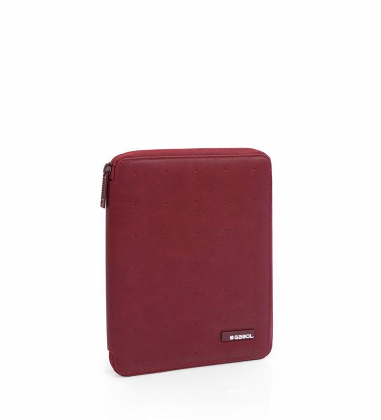 Comprar Gabol Portfólio Alpha A5 vermelho -18x23x2.5cm-