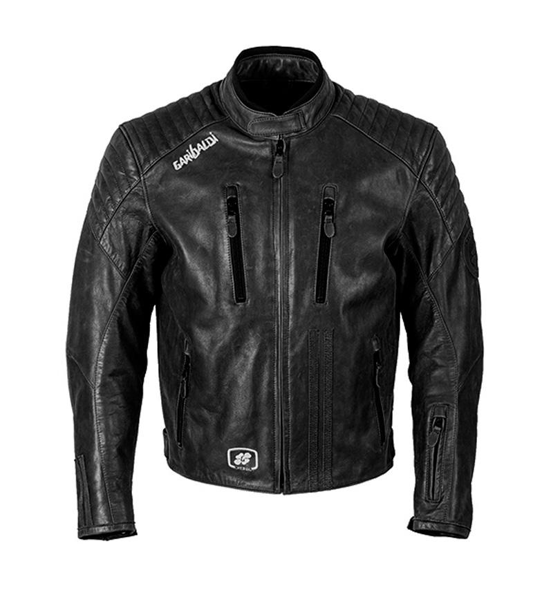 Comprar Garibaldi Chaqueta de piel Bullrider Vintage negro