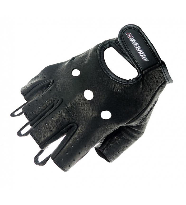 Comprar Garibaldi Luvas de couro Custom Biker black
