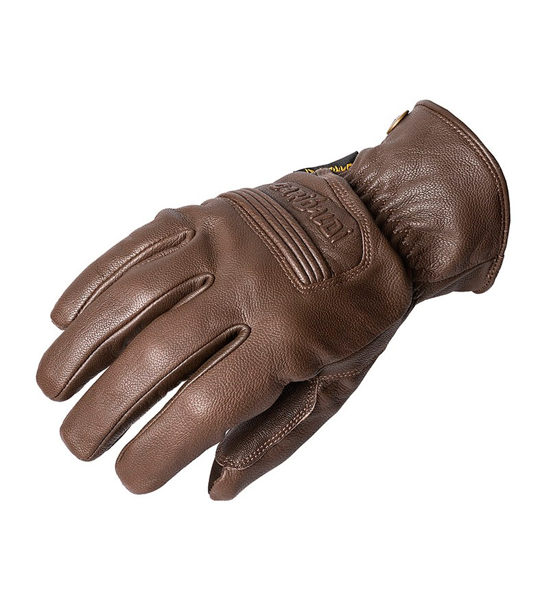 Comprar Garibaldi Brown leather gloves Civic