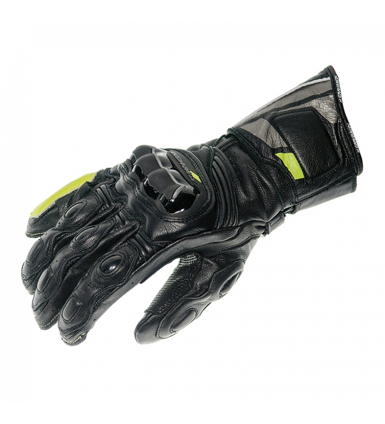Comprar Garibaldi Gloves made of Nexus Pro leather, black, fluor
