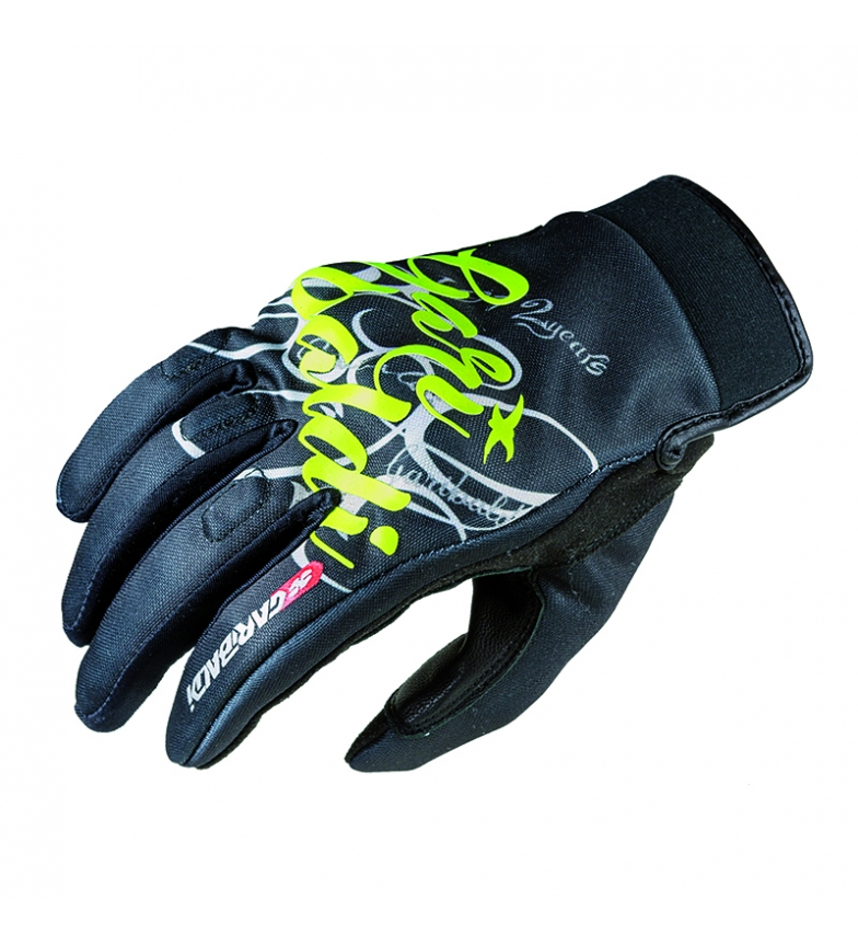 Comprar Garibaldi Black Bloomy gloves
