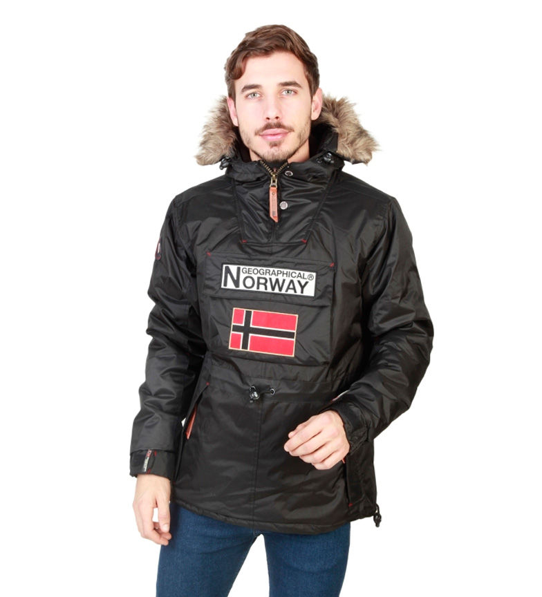 Comprar Geographical Norway Revestimento preto boomerang
