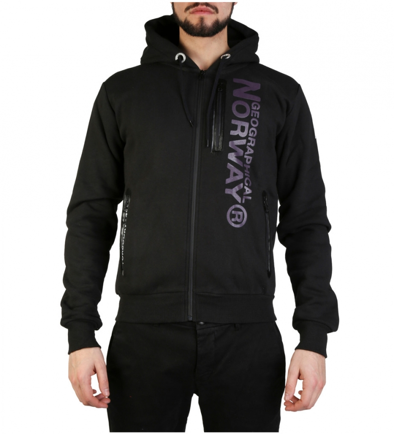 Comprar Geographical Norway Sudadera Fascarade negro