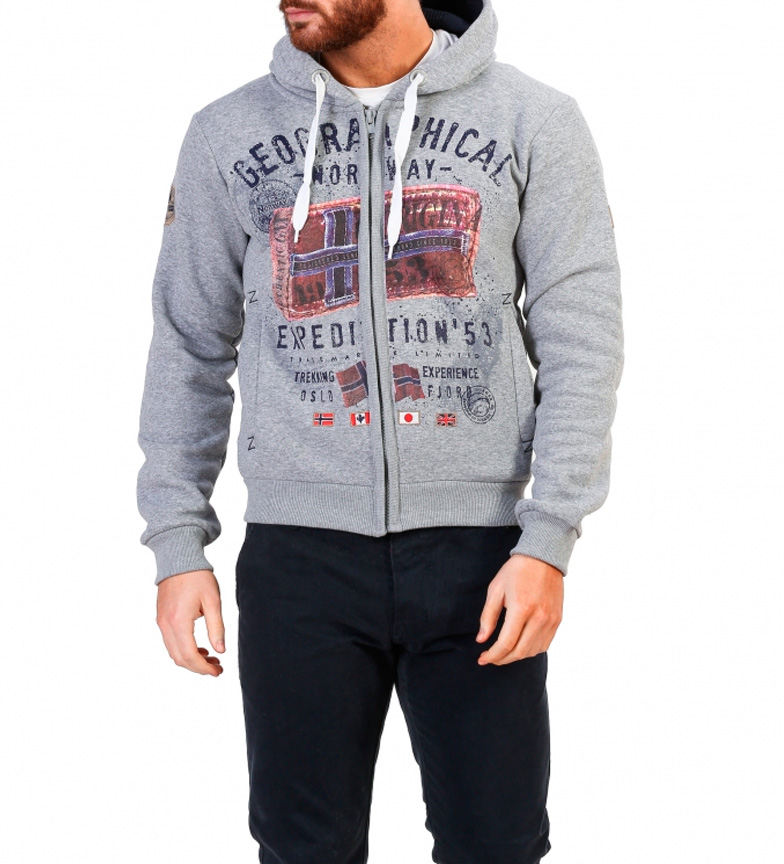 Geographical Norway Sudadera Filliam gris