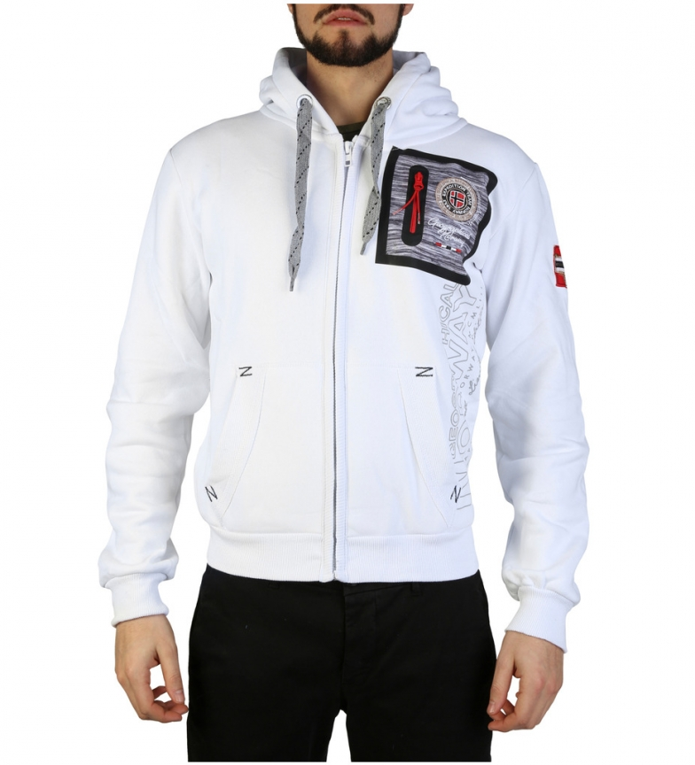 Comprar Geographical Norway Sudadera Fitor blanco