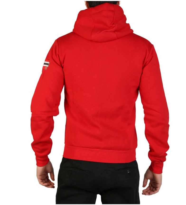 Sudadera Sudadera Norway Rojo Geographical Geographical Norway Fitor iXZPku