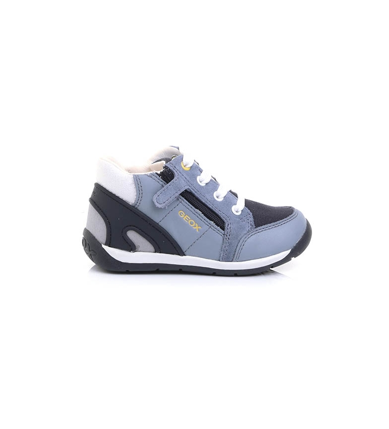 Comprar GEOX Leather shoes B940BB blue