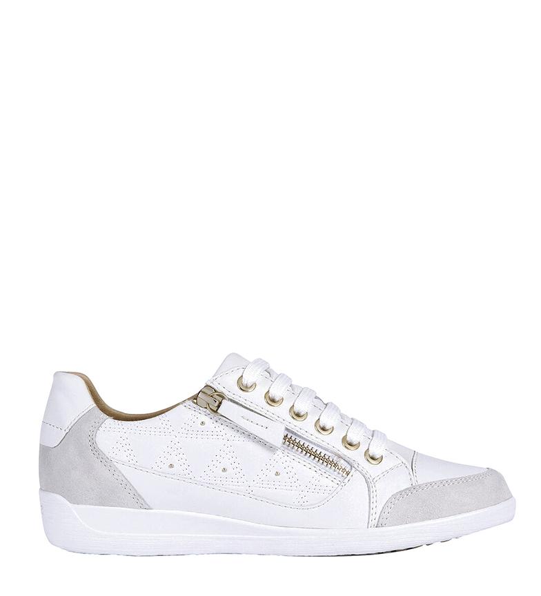 Parcialmente Delegar Instrumento  Comprar GEOX Zapatillas de piel Myria blanco - Tienda Esdemarca moda,  calzado y complementos - zapatos de marca y zapatillas de marca