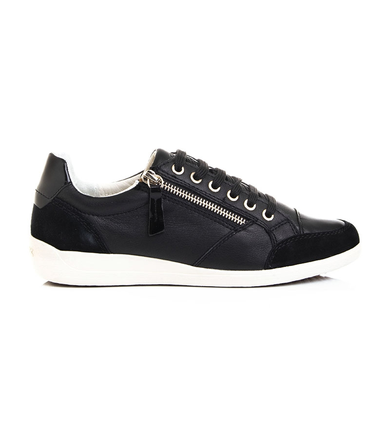 Comprar GEOX Zapatillas  de piel D Myria negro
