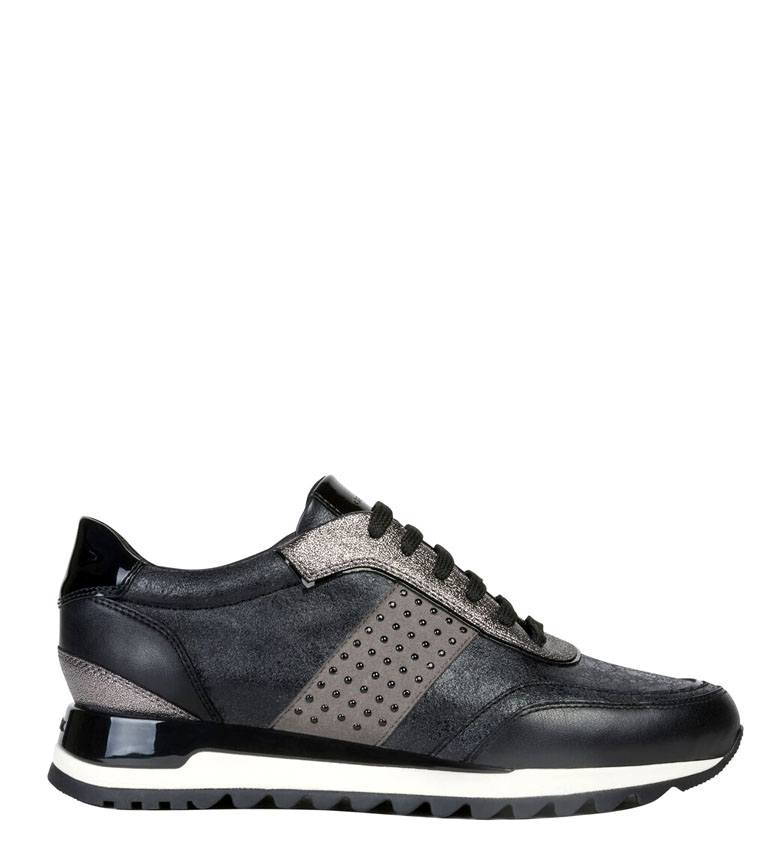 Comprar GEOX Tabelya leather slippers black