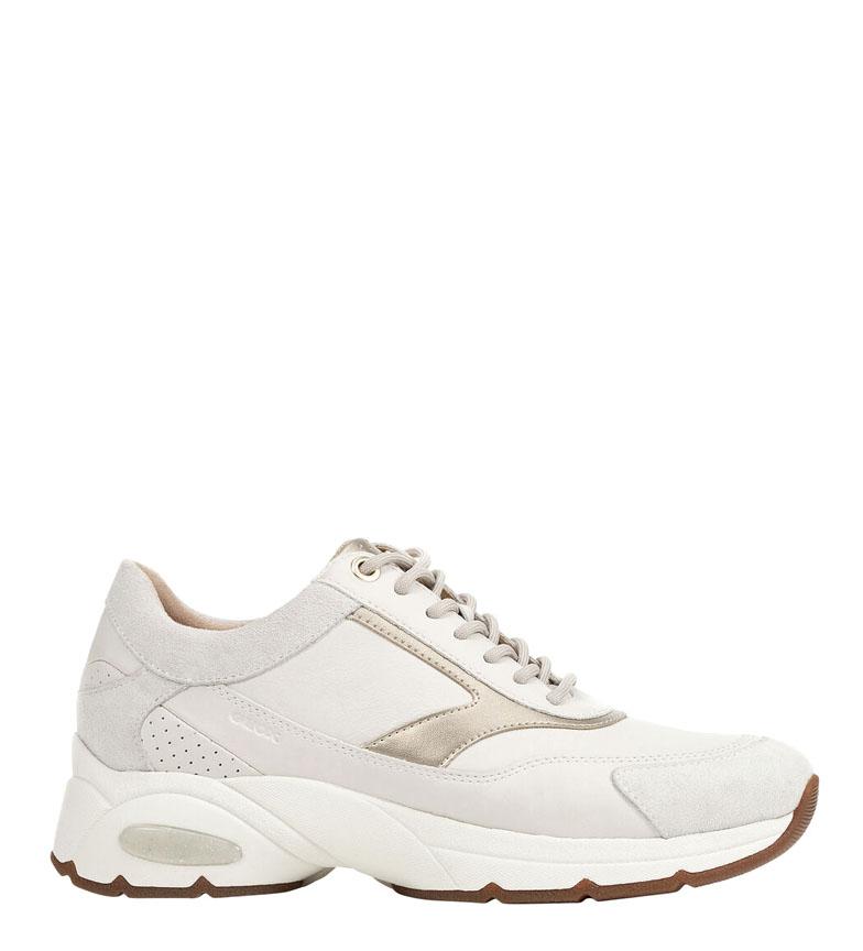 Comprar GEOX Sneakers Alhour in pelle bianca