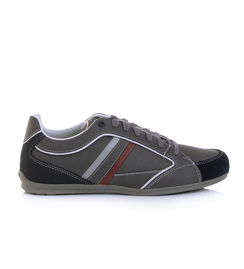 Comprar GEOX Grey Houston Leather Shoes