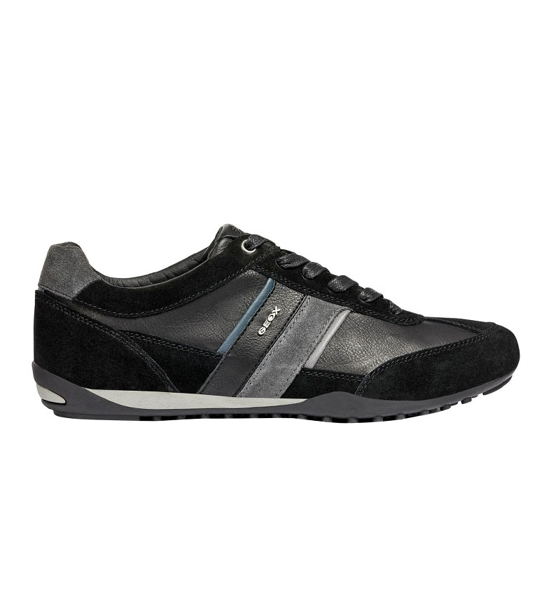 Comprar GEOX Wells chaussures de sport en cuir noir