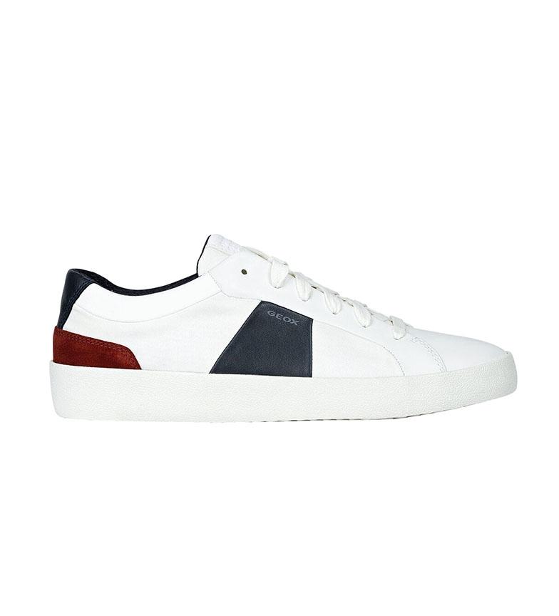 Comprar GEOX Chaussures en cuir White Warley