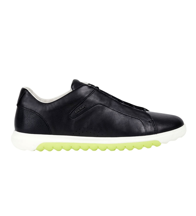Comprar GEOX Nexside black leather sneakers