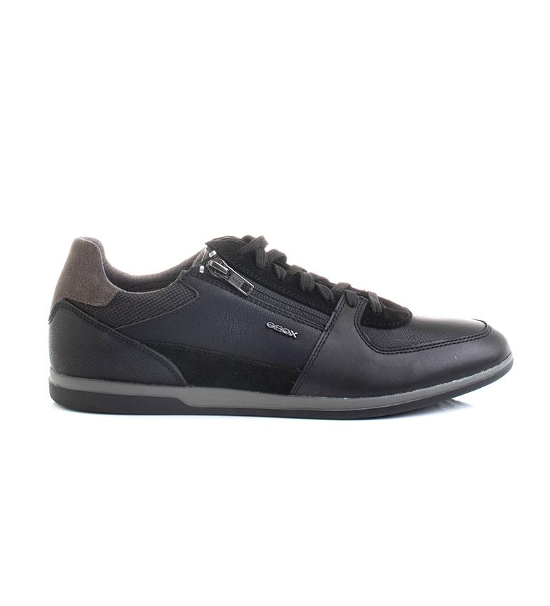 Comprar GEOX Zapatillas de piel Renan negro