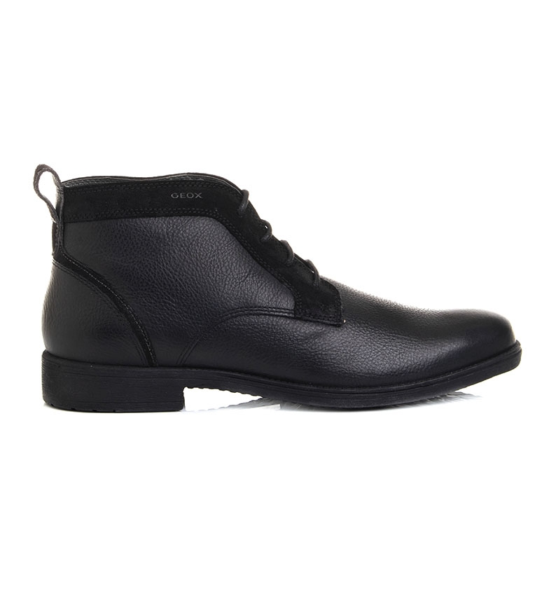 Comprar GEOX Black U Jaylon leather shoes