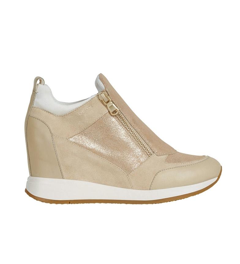 Comprar GEOX Sapatos de couro Nydame bege