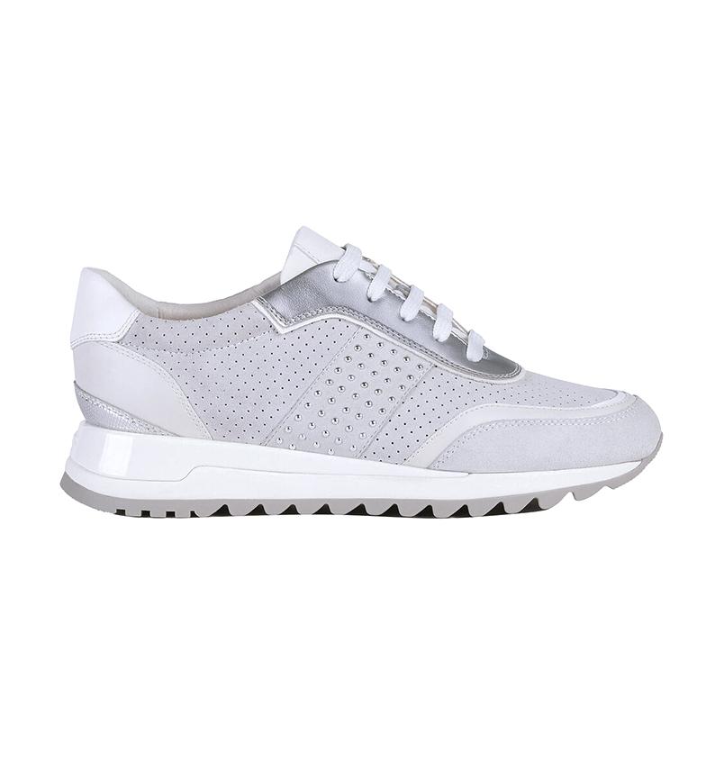 Comprar GEOX Sneakers Tabelya in pelle bianco sporco