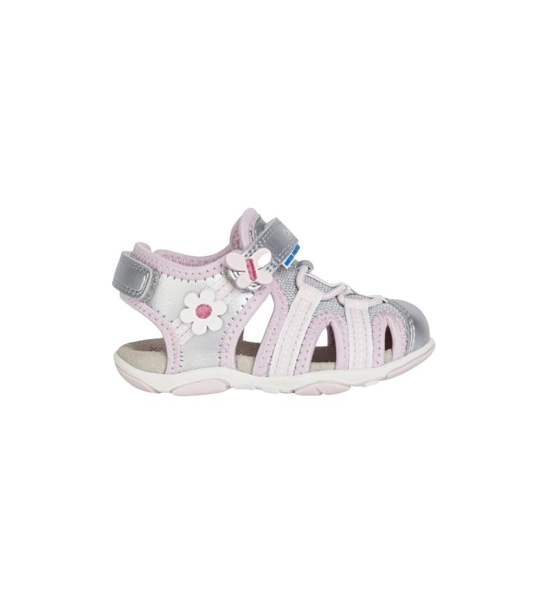 Comprar GEOX Agasim silver, pink sandals