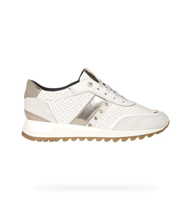 Comprar GEOX Zapatillas de piel Tabelya blanco