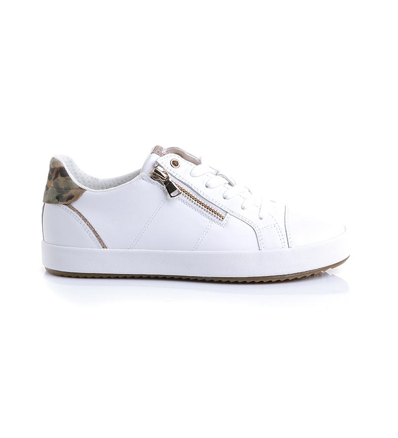 Comprar GEOX Zapatillas de piel D Blomiee C blanco