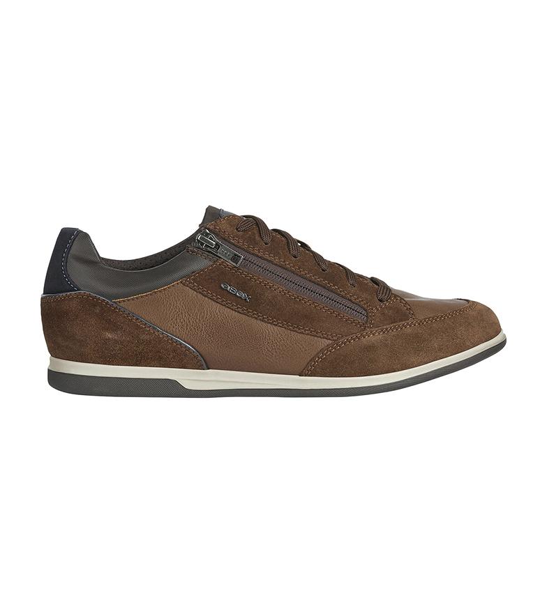 Comprar GEOX Leather shoes U Renan brown