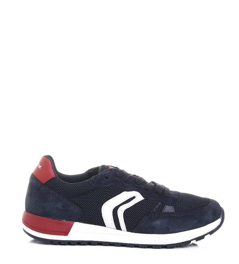 Comprar GEOX Zapatillas Alben marino, rojo