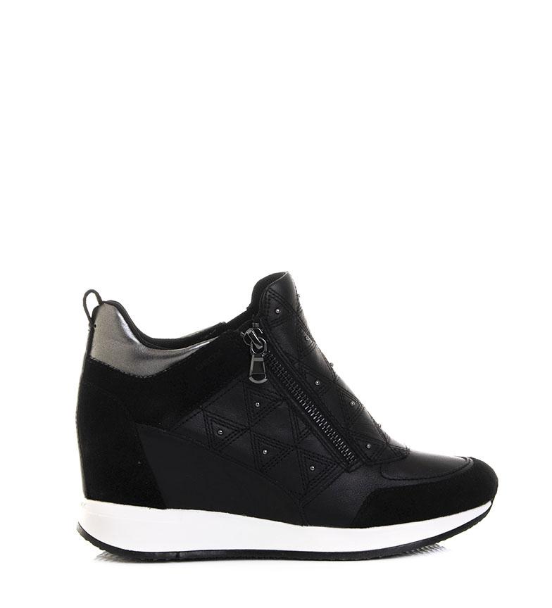 Comprar GEOX Sapatos Nydame pretos - Altura da cunha: 7cm