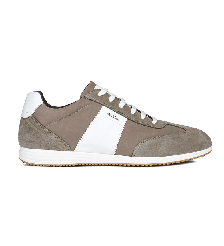 GEOX Arsien taupe shoes