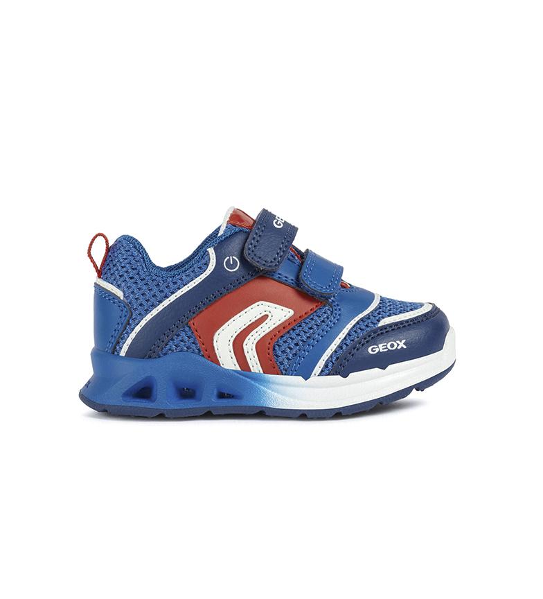 GEOX Bébé Dakin Garçon chaussures bleu