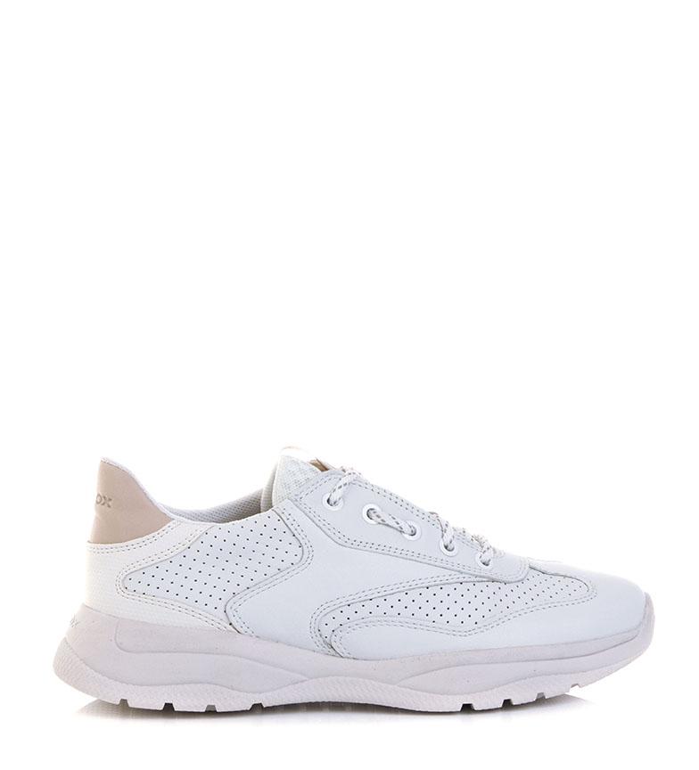 Comprar GEOX Sapatos de couro Smeraldo branco