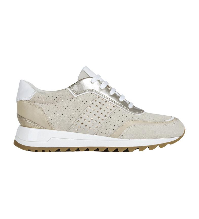 Comprar GEOX Sneakers Tabelya in pelle stampa animalier